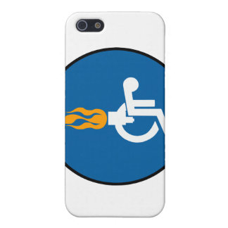 Jet Wheelchair iPhone 5 Cover