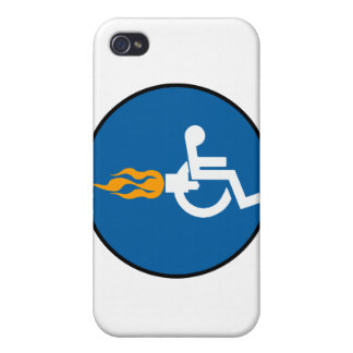 Jet Wheelchair Cases For iPhone 4