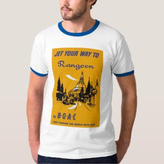 Jet Your Way to Rangoon T-Shirt