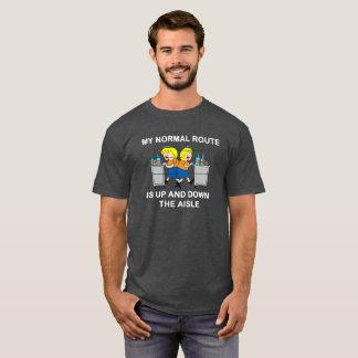 Jetlagged Comic | My Normal Route Men's T-Shirt
