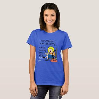 Jetlagged Comic | Your Safety Women's T-Shirt