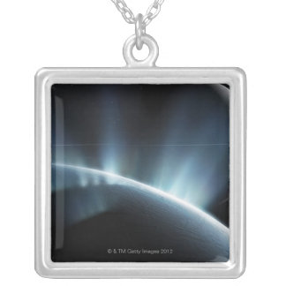 Jets of Water Silver Plated Necklace