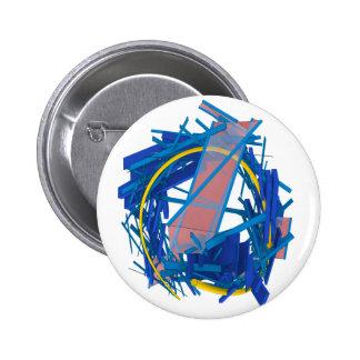 Jetsam 288 6 cm round badge