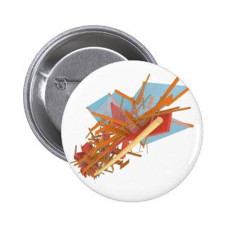 Jetsam 74 6 cm round badge