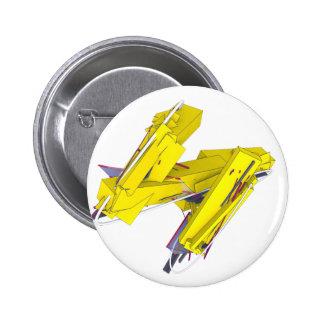 Jetsam 88 2 inch round button