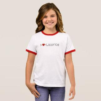 Jetset Licorice > Girls T-Shirt - iHeart Licorice