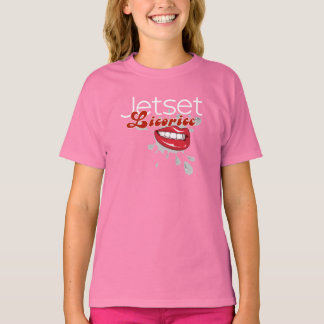 Jetset Licorice > Girls T-Shirt - Lip Service