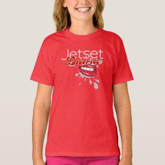 Jetset Licorice > Girls T-Shirt - Lip Service