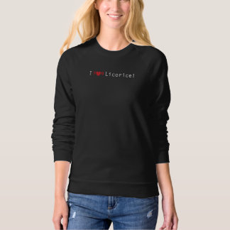 Jetset Licorice > Women's Sweatshirt