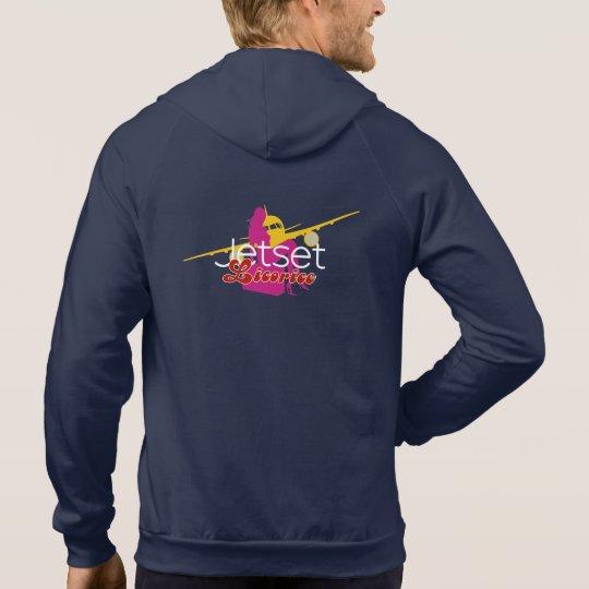 Jetset Liquorice > Men's Zip Hoodie