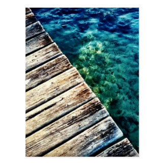 Jetty and Water Post Card