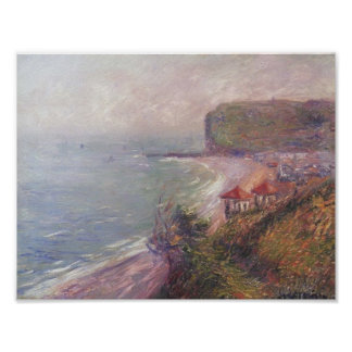 Jetty at Fecamp by Gustave Loiseau Poster