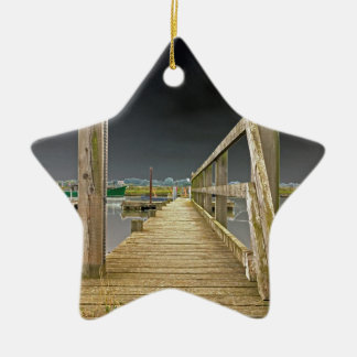 Jetty at Walberswick Christmas Ornament