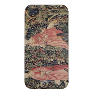 Jeu de Marelle et Cueillette de Fruits' Covers For iPhone 4