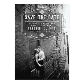 Jeune Amour by Origami Prints Save the Date 13 Cm X 18 Cm Invitation Card