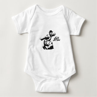 Jew Jitsu Martial Arts | Jewish Bar Mitzvah Gifts Baby Bodysuit