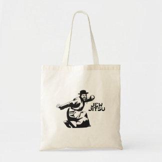 Jew Jitsu Tote Bag | Jewish Bar Mitzvah Gifts