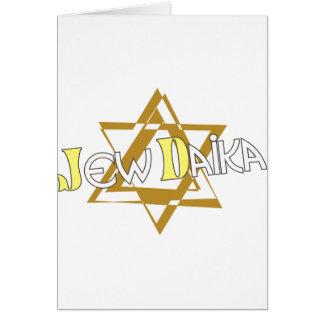 JewDaika Greeting Card