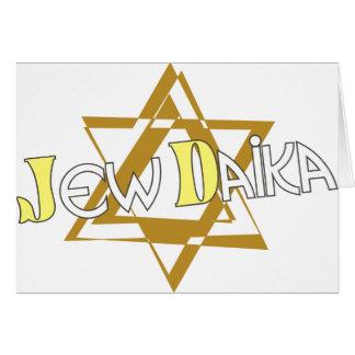 JewDaika Note Card