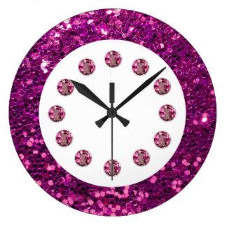 Jewel Bling Wall Clock