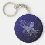 Jewel Butterfly Key Chain