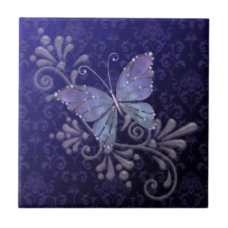Jewel Butterfly Tile