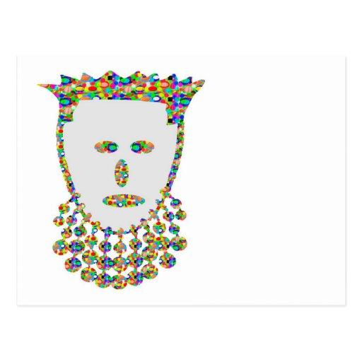 Jewel Carved Prince Princess ART by NAVIN Joshi Post Cards
