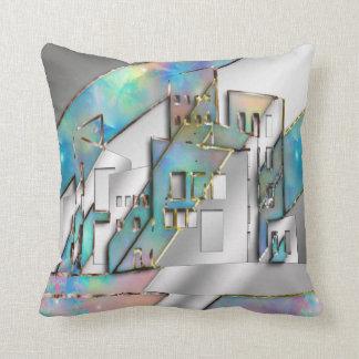 Jewel City Throw Cushion