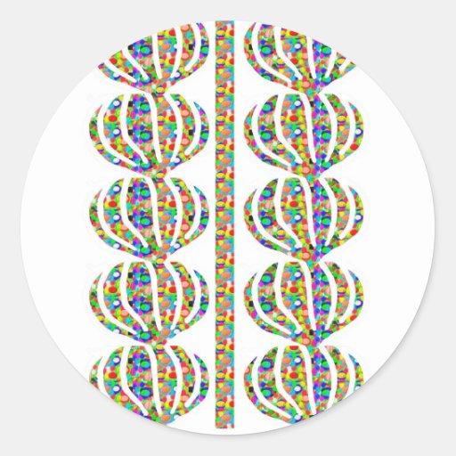 Jewel Cutout Decorations on GIFTS art by NAVIN JOS Sticker
