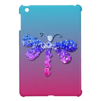 Jewel Dragon Fly Sparkle Customize pretty iPad Mini Covers