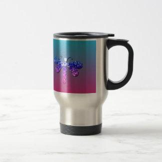 Jewel Dragon Fly Sparkle Customize pretty Mug