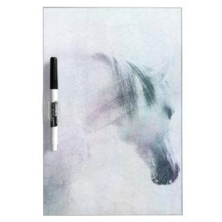 """Jewel"" horse dry erase board"