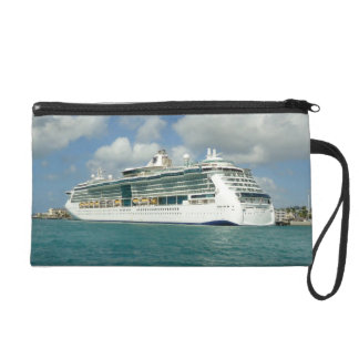 Jewel in Key West Cruise Travel Wristlet Purses