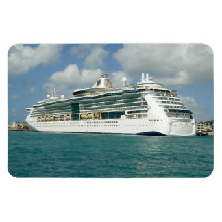 Jewel in Key West Rectangular Photo Magnet
