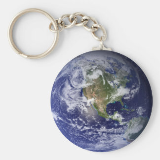 Jewel of the Universe Basic Round Button Key Ring