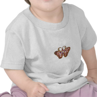 Jewel Sparkle Butterfly Pink Purple Customize Shirts