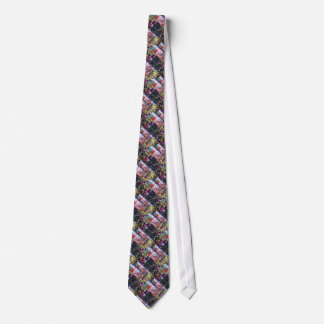 JEWEL Sparkle Print : Enjoy n SHARE the Joy Tie