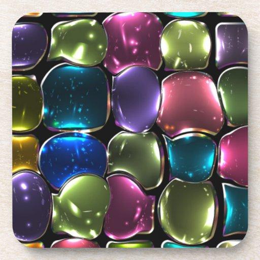 Jewel stones coasters