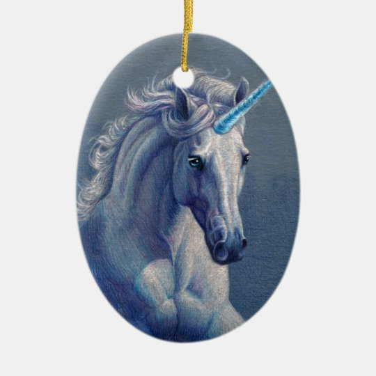 Jewel the Unicorn Christmas Ornament