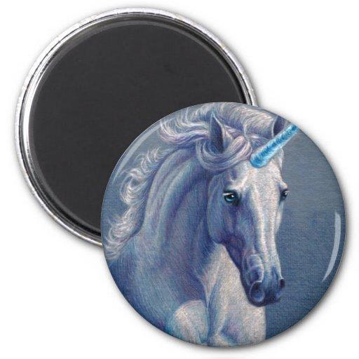 Jewel the Unicorn Refrigerator Magnets