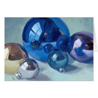 Jewel Tones - ornament art card