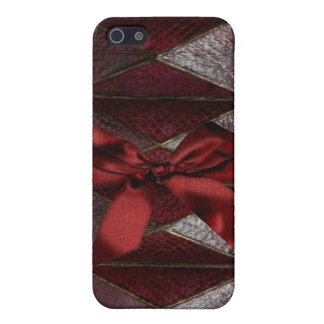 Jeweled and leather I Phone Case iPhone 5/5S Covers