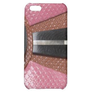 jeweled and leather I Phone Case iPhone 5C Case
