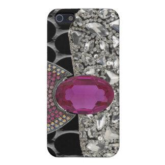 Jeweled and Rhinestone I Phone Case Case For The iPhone 5