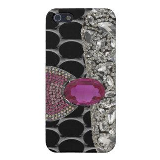 Jeweled and Rhinestone I Phone Case iPhone 5 Cover