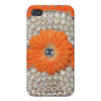 Jeweled and Rhinestone I Phone Case iPhone 4/4S Covers