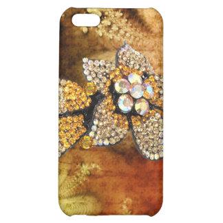 Jeweled and Rhinestone I Phone Case iPhone 5C Cover