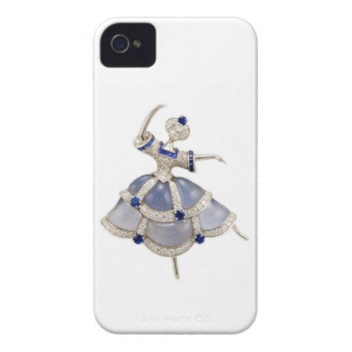 Jeweled Ballerina Blackberry Bold Case