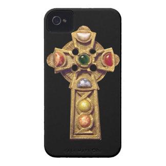 Jeweled Celtic Christian iPhone 4 Case Black