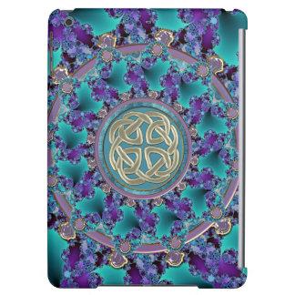 Jeweled Celtic Fractal Mandala iPad Air Case